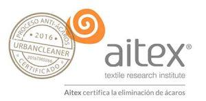 Certificado antiacaros