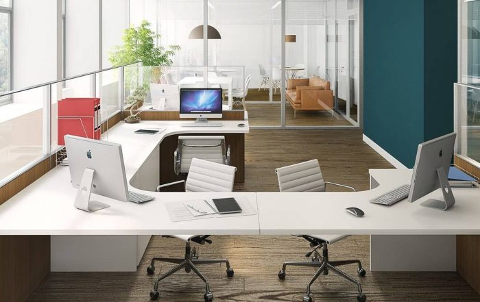 Oficina desinfectada con ozono